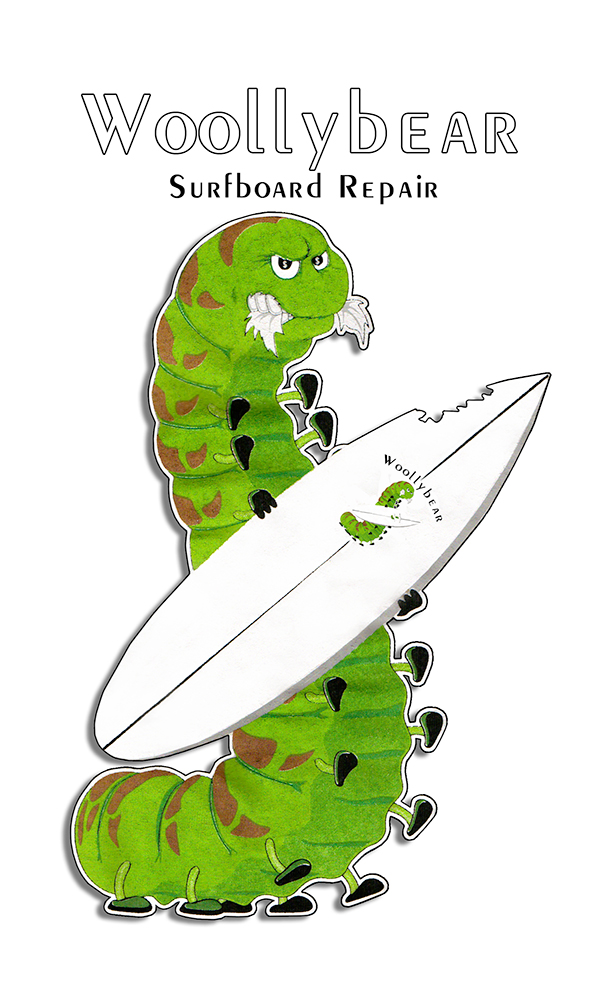 Woollybear Surfboard Repair Ventura